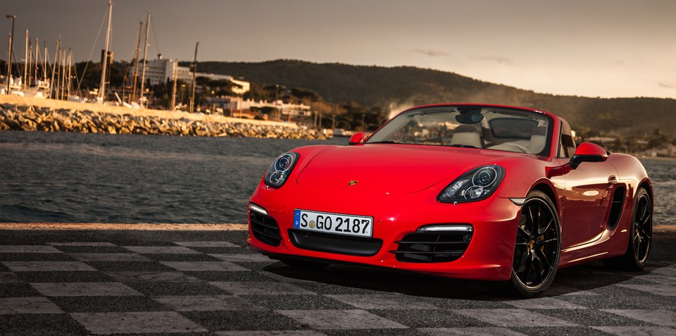 Volkswagen plant produces first new Porsche Boxster