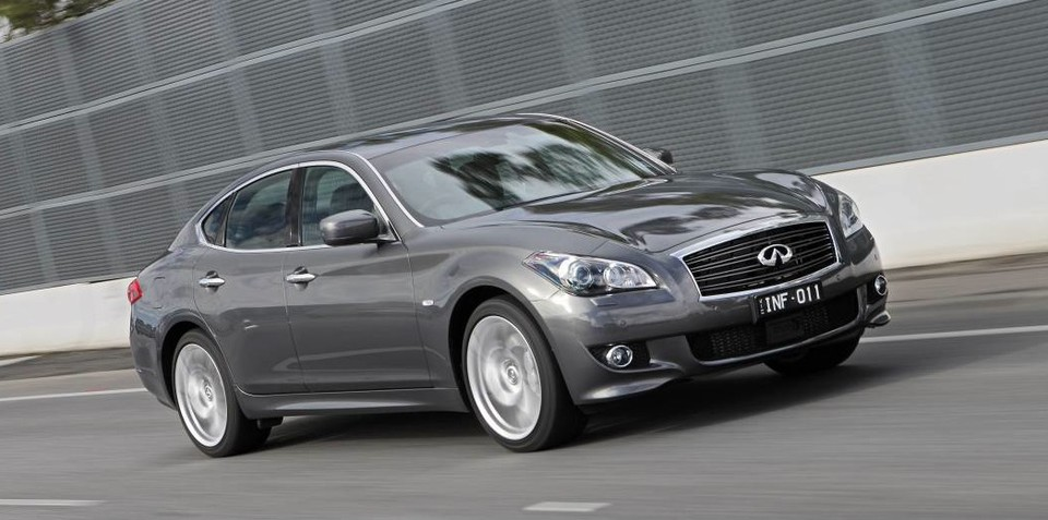 Infiniti M sedan upgraded to five-star NCAP safety rating