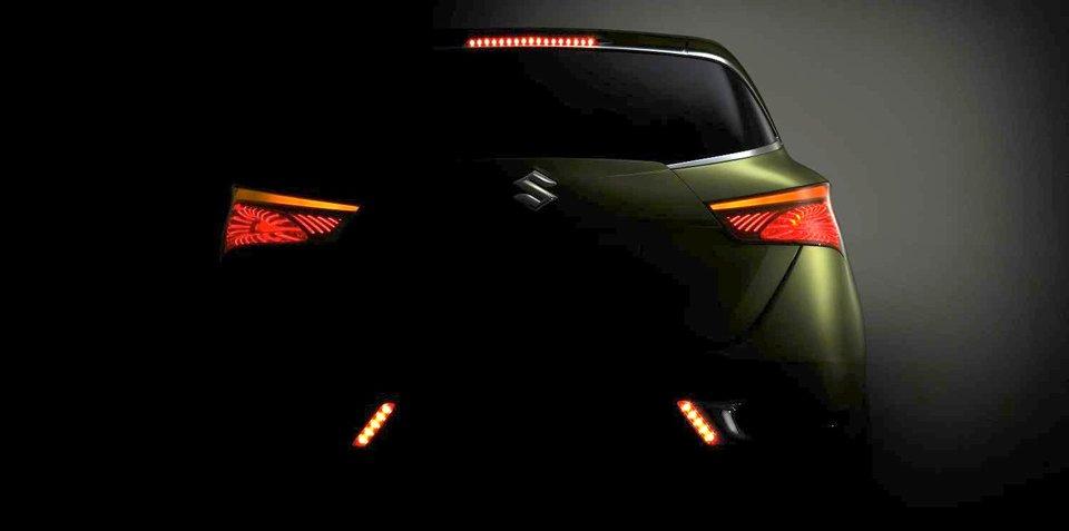 Suzuki S-Cross concept shows off its rear
