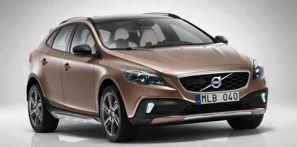 Volvo V40 Cross Country leaks online