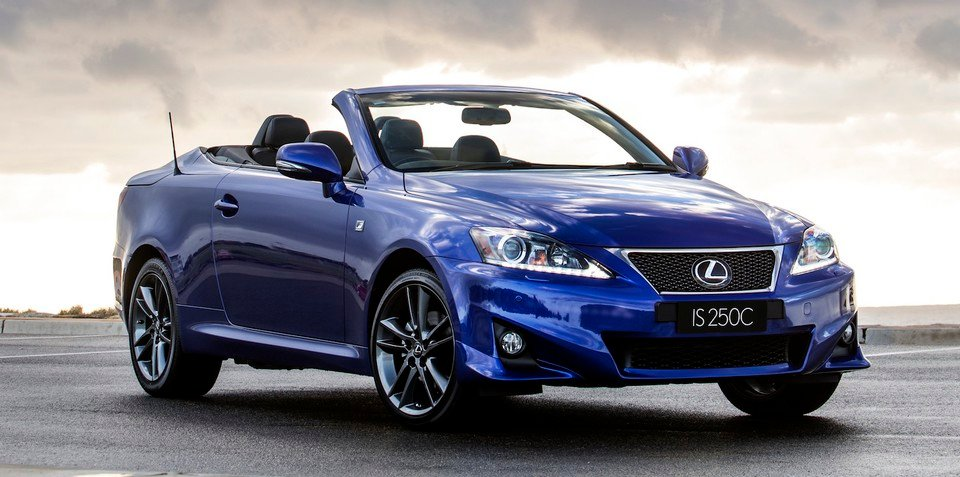 Lexus IS 250C F Sport: performance model topless for first time