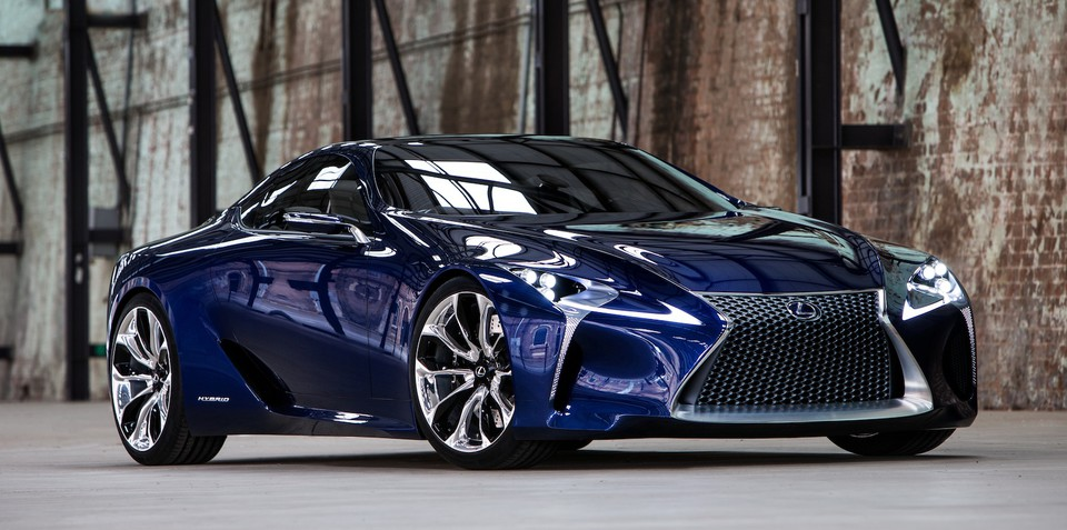 Lexus LF-LC Blue: Australian opals inspire Japanese hybrid gem