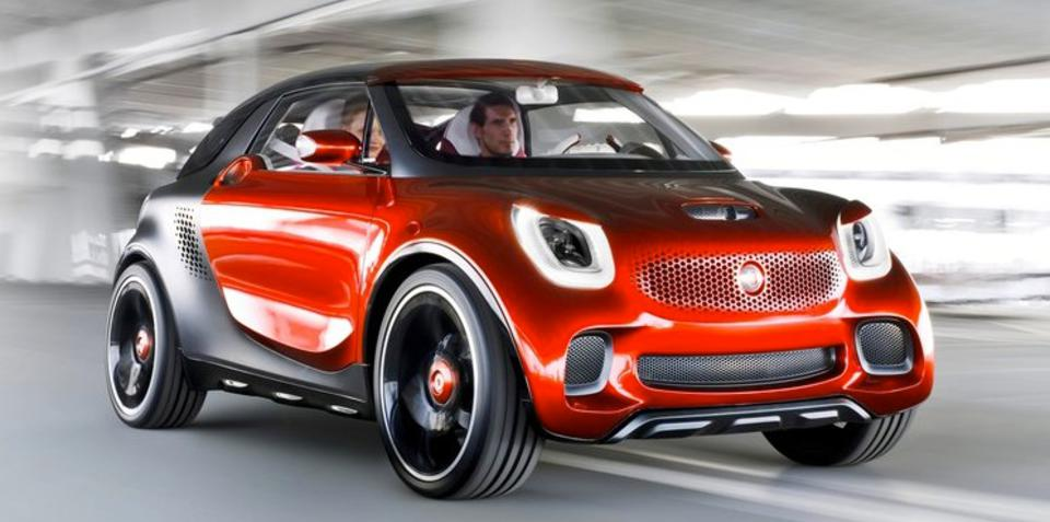 Smart Fortwo, Forfour city cars delayed