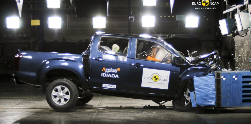 Holden Colorado, Isuzu D-MAX four-star safety ratings concern ANCAP