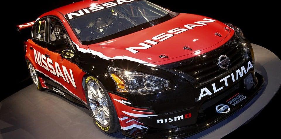 Nissan Altima V8 Supercar unveiled
