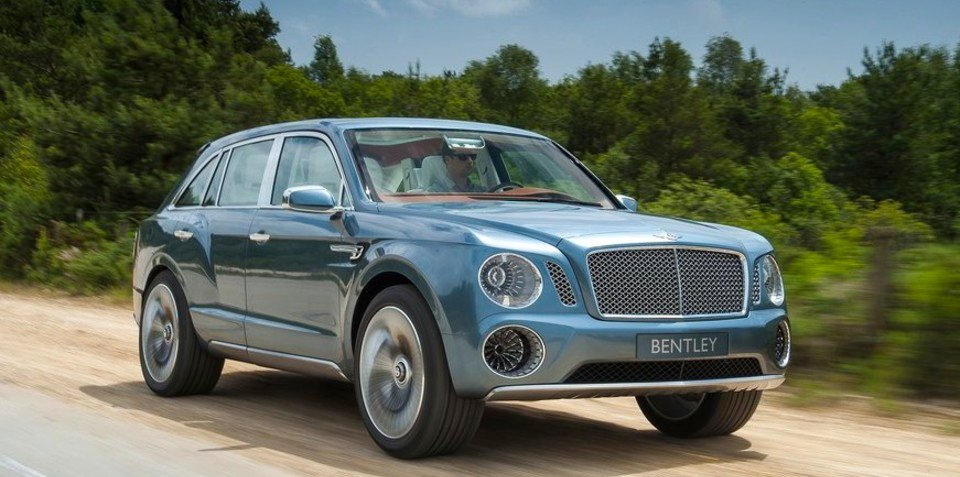 Bentley Falcon: Ford lawyers say 'no' to rumoured SUV name