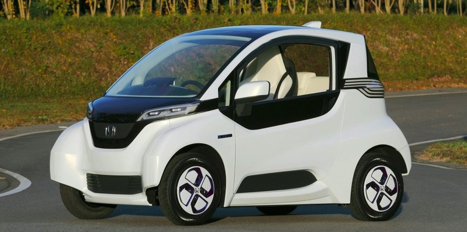 Honda Micro Commuter prototype previews future city-sized EV