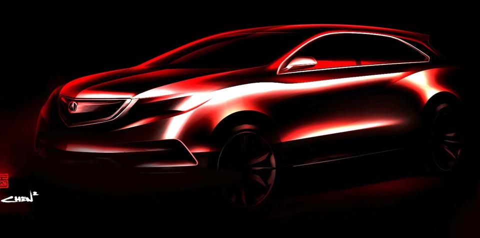 Honda MDX: next-gen SUV headed for Detroit