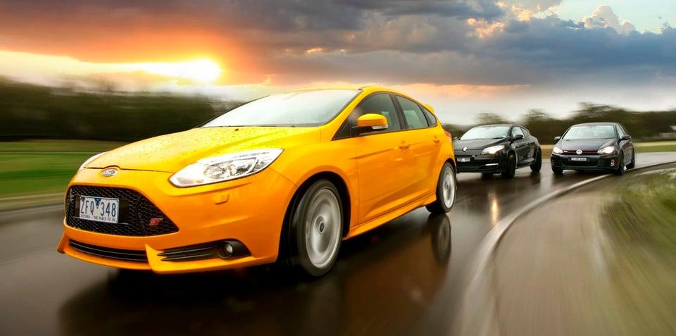 Ford Focus ST v Renault Megane RS265 v VW Golf GTI: Comparison Review