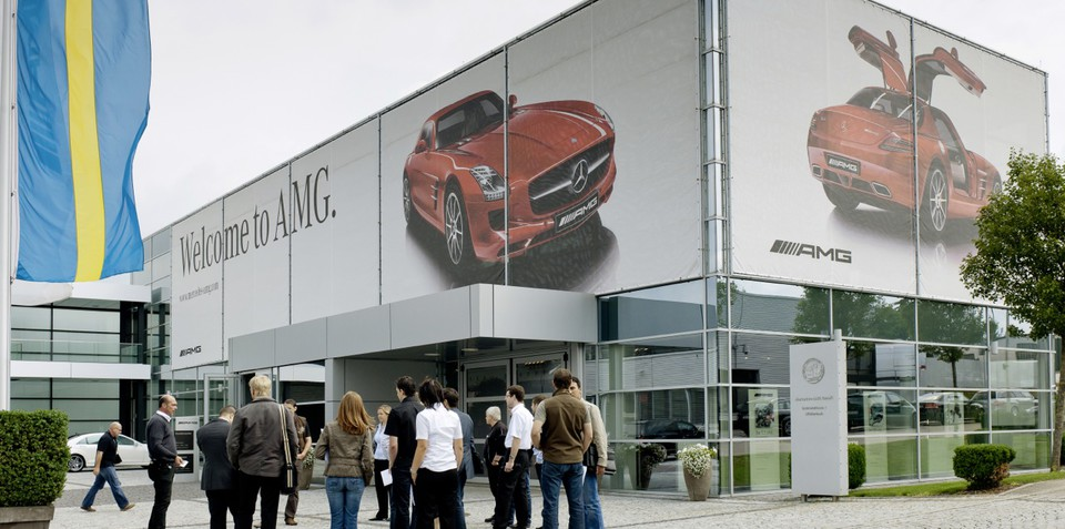Mercedes-Benz AMG factory tour