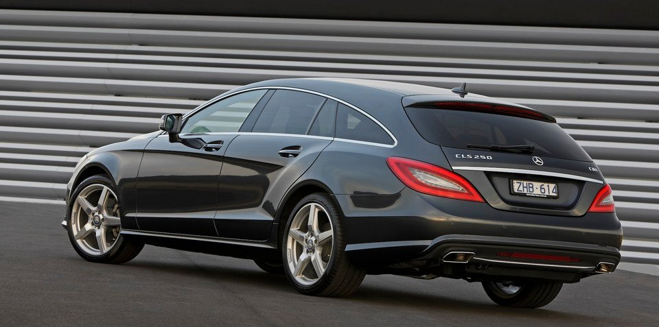 mercedes benz cls shooting brake coupe style wagon arrives. Black Bedroom Furniture Sets. Home Design Ideas