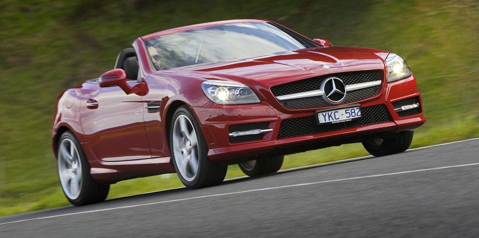 2015-16 Mercedes-Benz SLK recalled for brake fix
