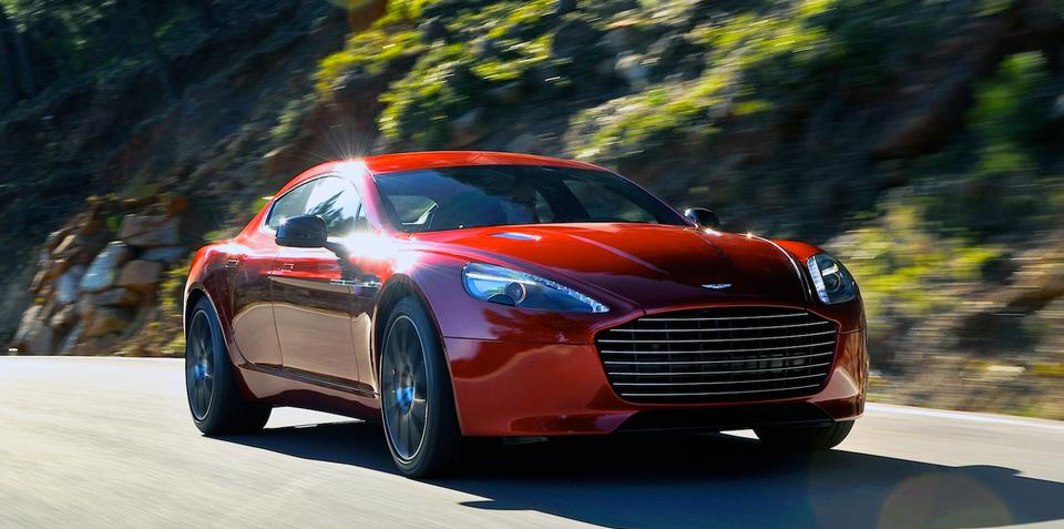 Aston Martin Rapide S: new sports model replacing existing GT