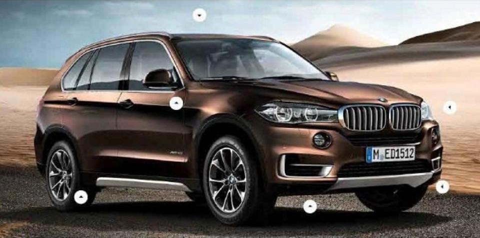 BMW X5: next-gen luxury SUV images leaked