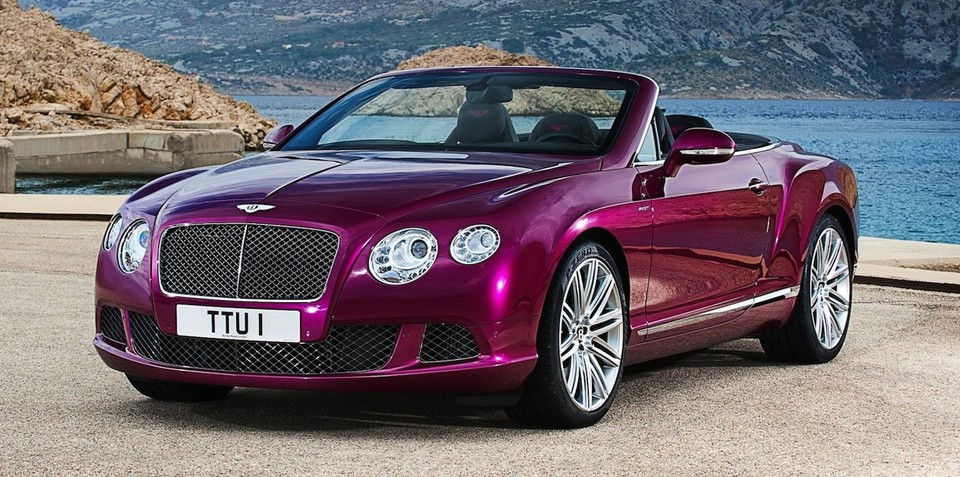 Bentley Continental GT Speed Convertible: world's fastest four-seater drop-top revealed