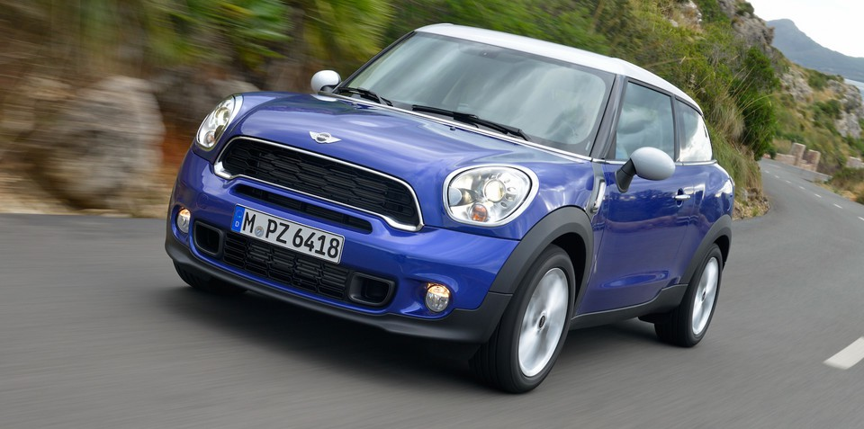 2013 Mini Paceman pricing and specifications