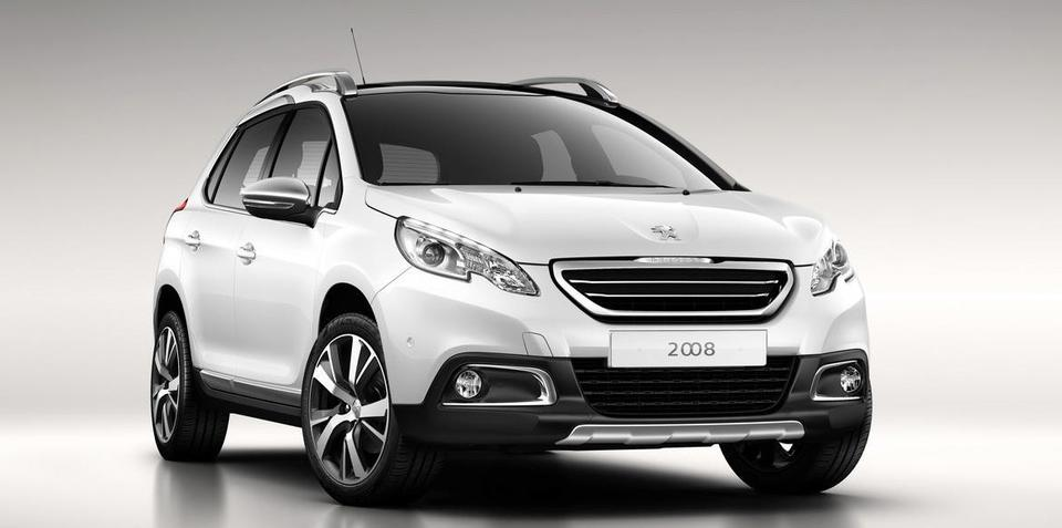 Peugeot 2008 compact SUV: first images leaked