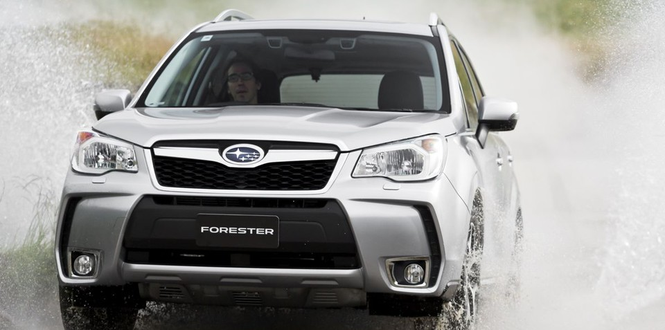 2013 Subaru Forester XT debuts with smaller engine, CVT only