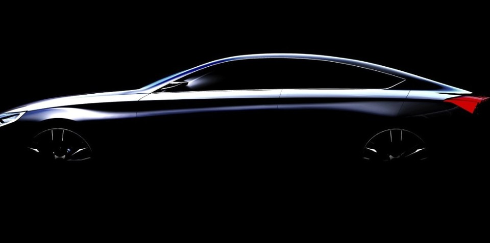 Hyundai HCD-14: luxury sedan concept teases next Genesis