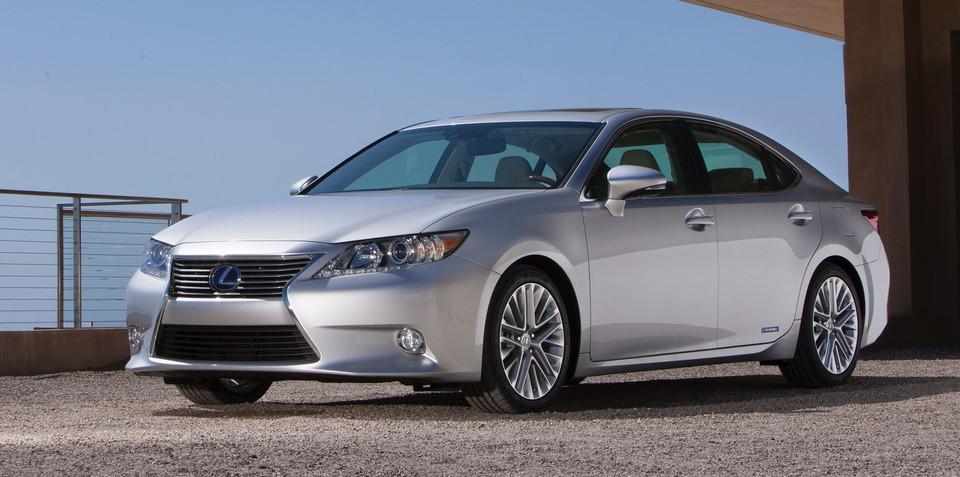 Lexus ES: Australian return confirmed for mid-size luxury sedan