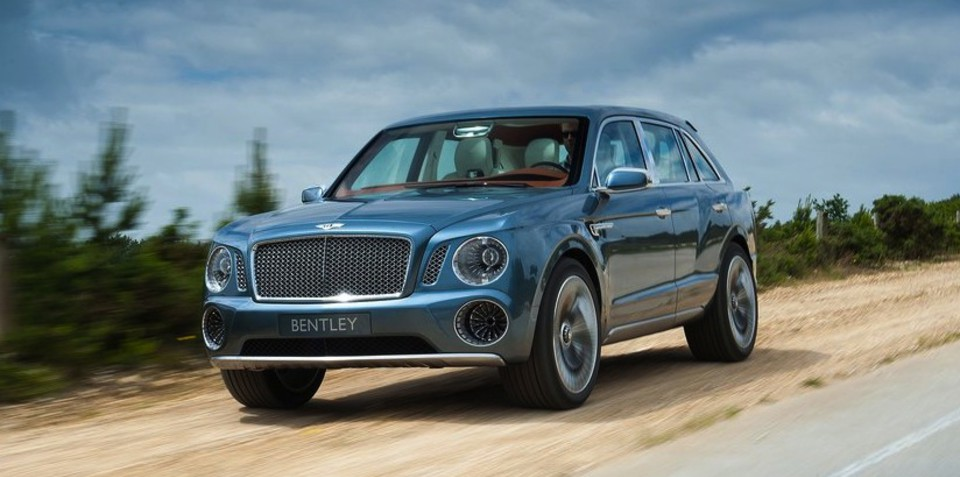 Bentley SUV gets production green light: report
