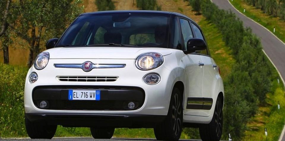 Fiat 500L gains two-cylinder TwinAir, 1.6 MultiJet diesel engines