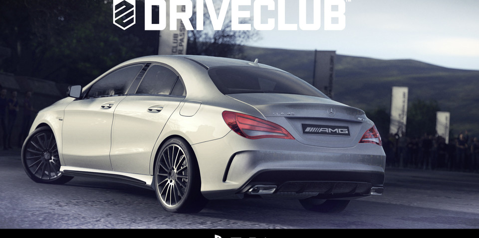 Sony PlayStation 4 game reveals Mercedes-Benz CLA45 AMG