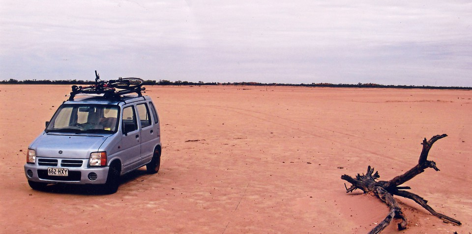 Suzuki Wagon R+ King of the outback