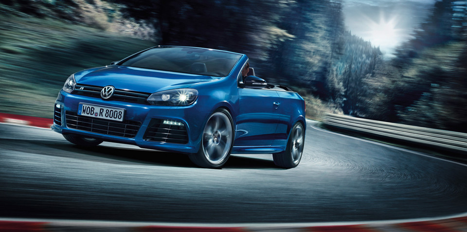 Volkswagen Golf R Cabriolet details: hot-hatch loses roof, all-wheel drive