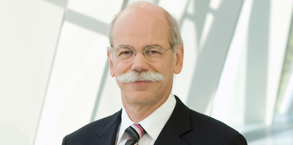 Daimler boss Zetsche earns three-year contract extension