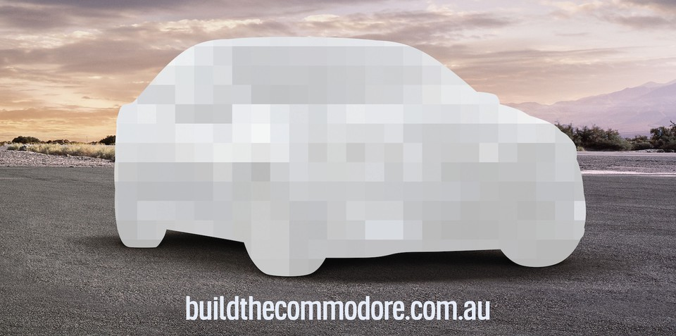 Holden Commodore: win a new VF in online scavenger hunt