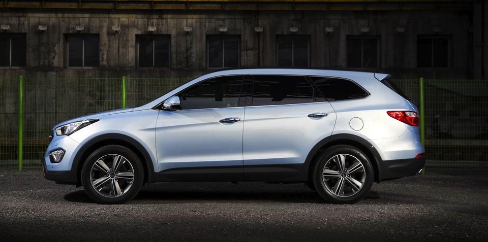 Hyundai Grand Santa Fe: long-wheelbase SUV confirmed for Europe