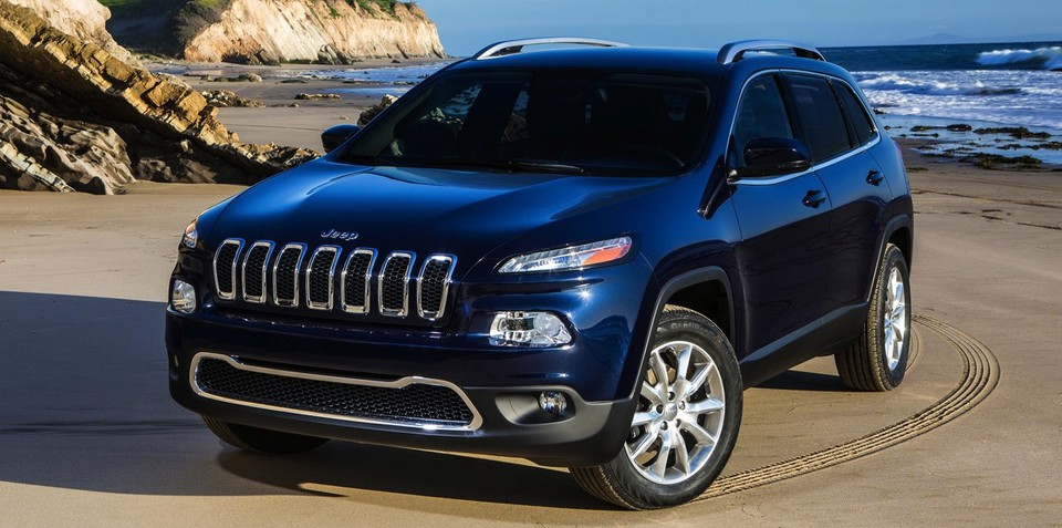 Jeep Cherokee: radical styling for new mid-sized SUV