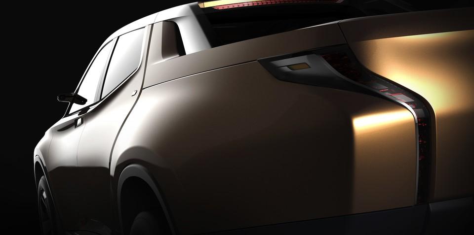 Mitsubishi GR-HEV concept previews Triton hybrid