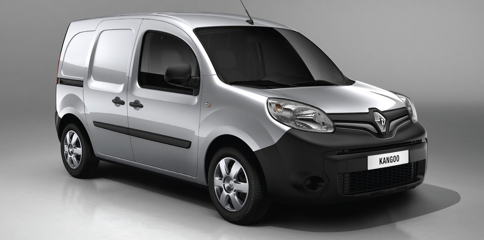 Renault Kangoo: facelift for compact commercial van