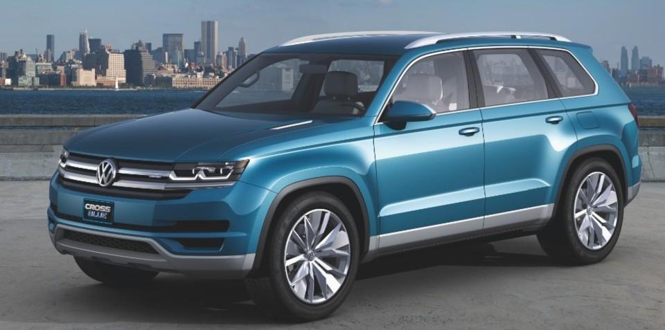 Volkswagen CrossBlue: Australia puts hand up for seven-seat SUV