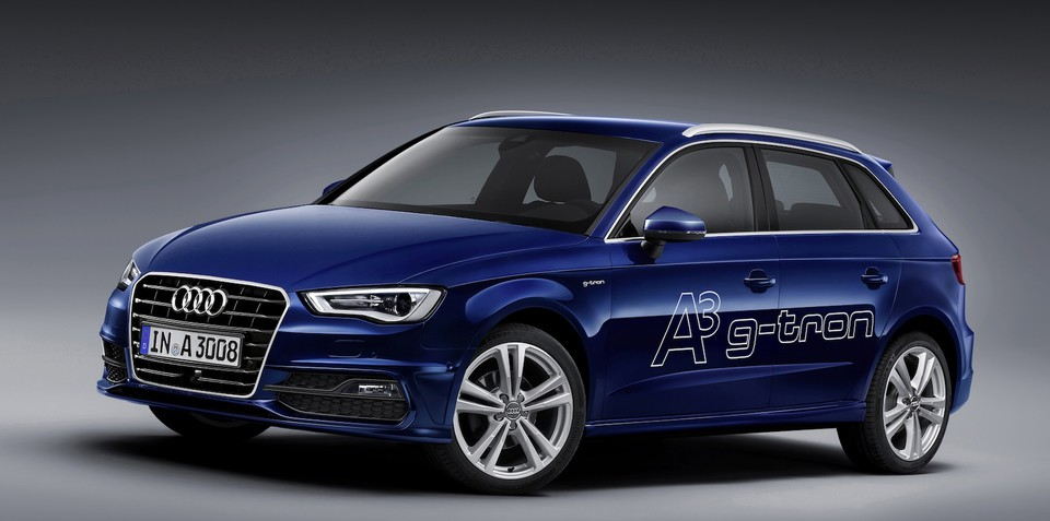 Audi A3 Sportback g-tron: dual-fuel hatch to debut this year