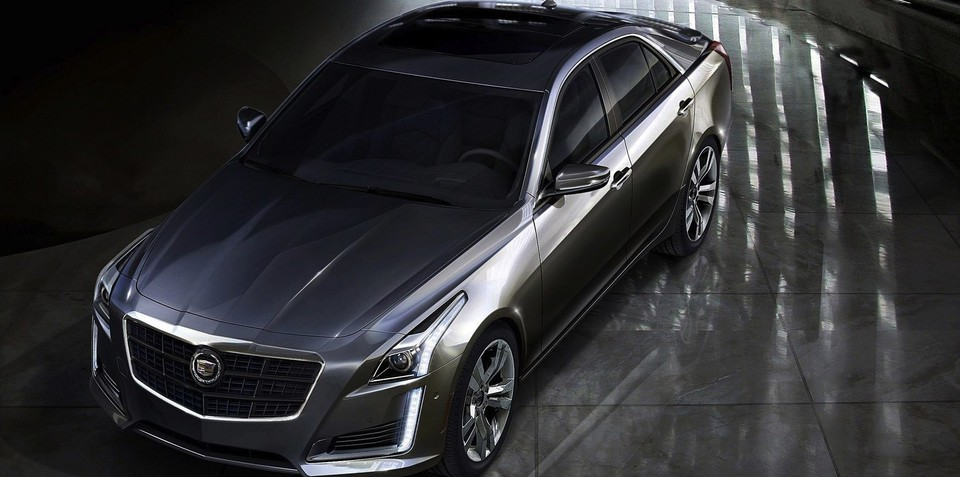 Cadillac CTS revealed in leaked images ahead of New York
