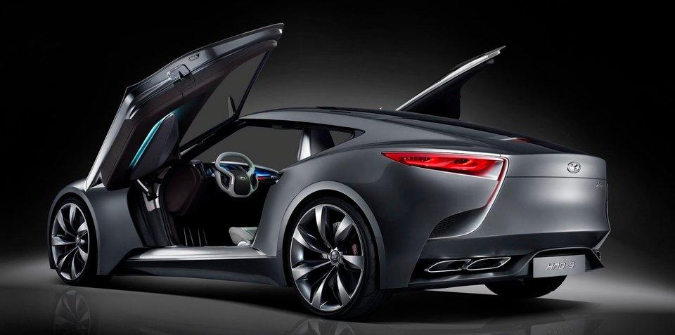 Hyundai HND-9: luxury sports concept teases next Genesis Coupe