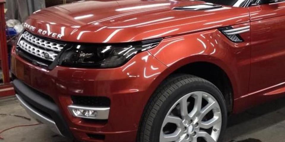 Range Rover Sport images leaked