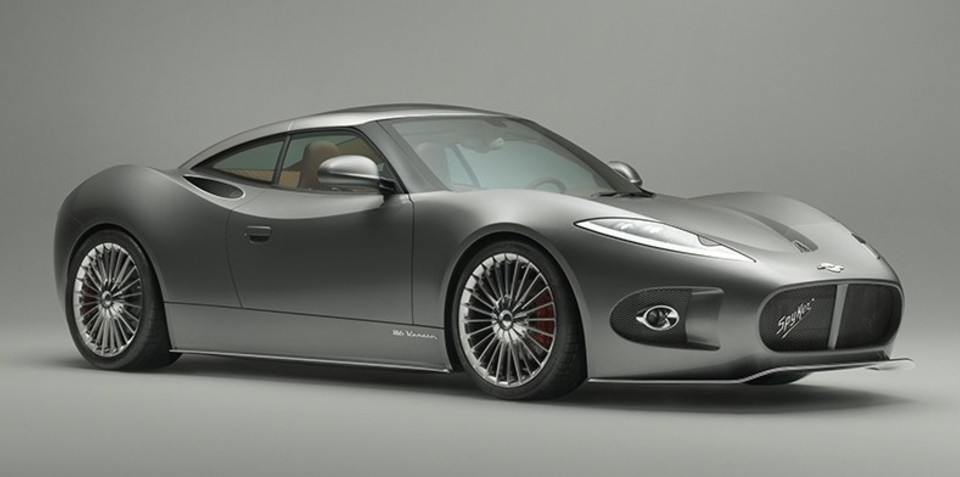 Spyker B6 Venator concept: 275kW aircraft-inspired sports car revealed