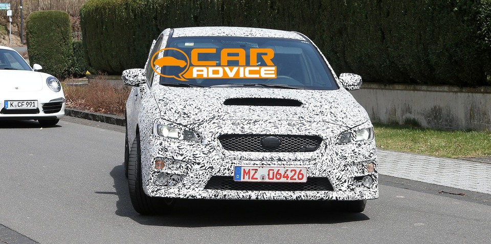 Subaru WRX set for Oz in March; WRX STI due Q2 2014