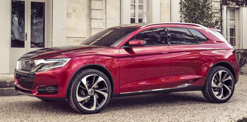 Citroen DS Wild Rubis: luxury SUV concept unveiled