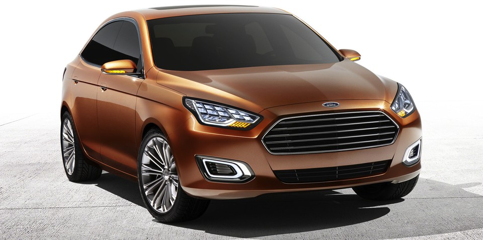 Ford Escort concept with Australian design input revealed