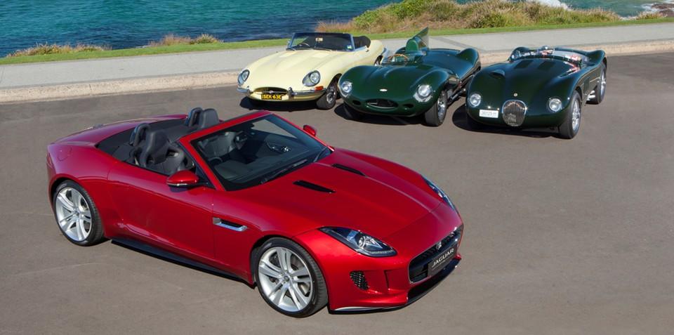 Jaguar F-Type makes rare public appearance in Australia