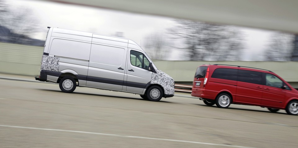 Mercedes-Benz boosts van safety with five new assistance systems