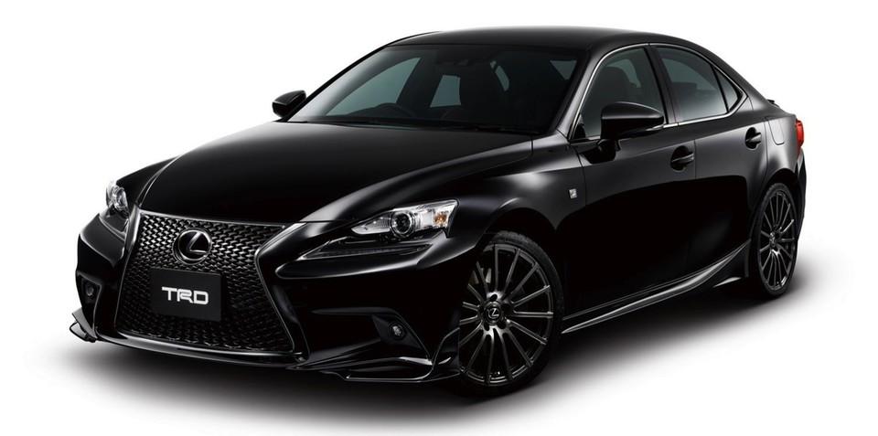Lexus IS: TRD hots up new Japanese sedan