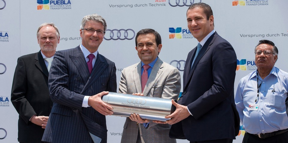 Audi Mexico underway: first plant in the Americas to open by mid 2016