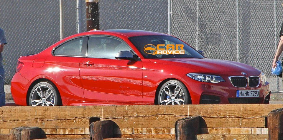 BMW M235i revealed in spy shots