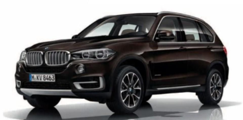 BMW X5: M Sport, M50d, Design Pure Excellence styles revealed